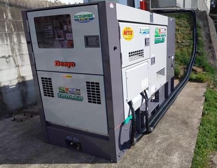 2020年4月 中津川市内工場停電対策発電機設置工事